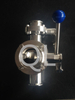 Sanitary Stainless Steel Tri Clamp Butterfly Valve New Tpye
