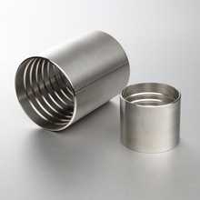 Sanitary Stainless Steel Hydraulic Hose Fitting Crimp Ferrule