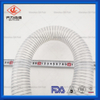 FDA Grade Clear Wire Reinforced Silicone Hose for Food Grade Delivery