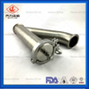 Sanitary SS Tube Tee Y TypeTri-clamped Pipe Fitting