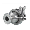 Sanitary Stainless Steel Check Valve With Clamp End