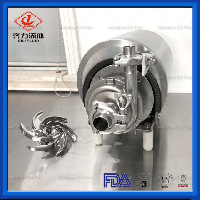 Stainless Steel Sanitary Dairy Food Grade Transfer Centrifugal Pump