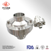 Sanitary Stainless Steel 304 316L Check Valve Middle Flange Weld End