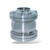 Sanitary Stainless Steel Three Pieces Flange Check Valve