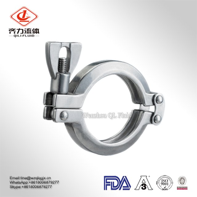 Top Sale Factory Price Stainless Steel Clamp