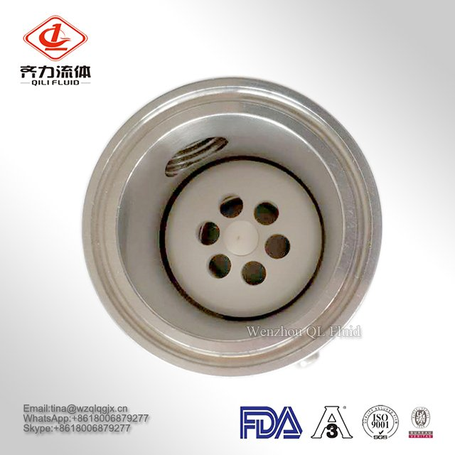 304 316L Sanitary Clamped Stainless Steel Check Valve for Food Grade
