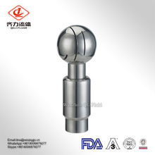 Rotary Hydraulic Spray Nozzle Head Stainless Steel Cleaning Ball for Washing