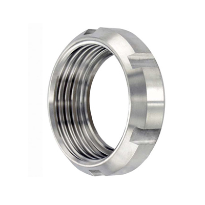 Sanitary Stainless Steel SMS 13R Round Nut