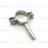Sanitary stainless steel pipe hangers