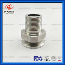 Sanitary SS Tube To Pipe Adapter Ferrule Fitting