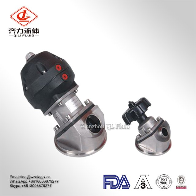Cheap 3.5 Inch Stainless Steel Sanitary Diaphragm Valve