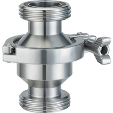 Sanitary Stainless Steel Threaded Check Valve