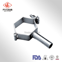 Sanitary stainless steel pipe hangers hexagon