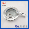 Sanitary Weld Sight Galss with LED Lamp