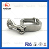 Heavy Duty Sanitary Double Pipe Clamps with Round Nut