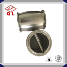 Stainless Steel Ball Type Hygienic Check Valve With Clamp Ends