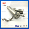 Sanitary Stainless Steel Tee Pipe Clamp Tee Wye Fitting