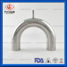 Stainless Steel Sanitary U Return Welded Reducing Tee