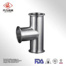 High Quality Sanitary Stainless Steel Clamped Equal Straight Tee