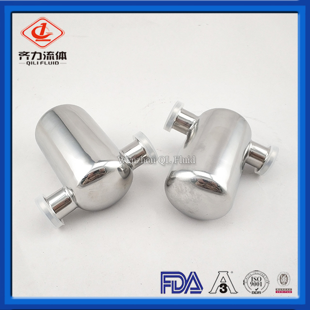 Sanitary Stainless Steel 304/316L Miniature Filter/Tube Filter