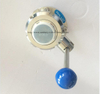 Sanitary Threaded Butterfly Valve with Ss Union