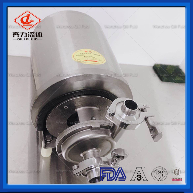 Food Grade High Flow Rate Centrifugal Water Pump with Drain Outlet