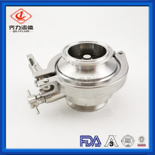 Stainless Steel 304 Or 316 Tri-Clamp customized Check Valve for Food Pipe Prevent Backward Flow of Liquid