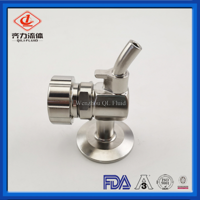 SS304 Tank Accessories Tri-Clamp Sample Valve