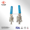 Clamped Ball Valve Sanitary Stainless Steel with ISO Standard