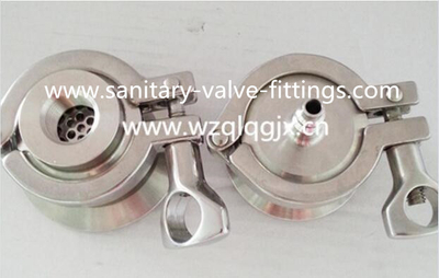 Weld End Sanitary Stainless Steel Air Flow Check Valve