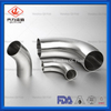 Sanitary Clamp 90 Degree Pipe Fittings Elbow