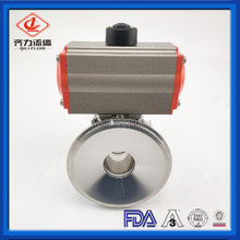 Sanitary Pneumatic Tank Bottom pneumatic Ball Valve